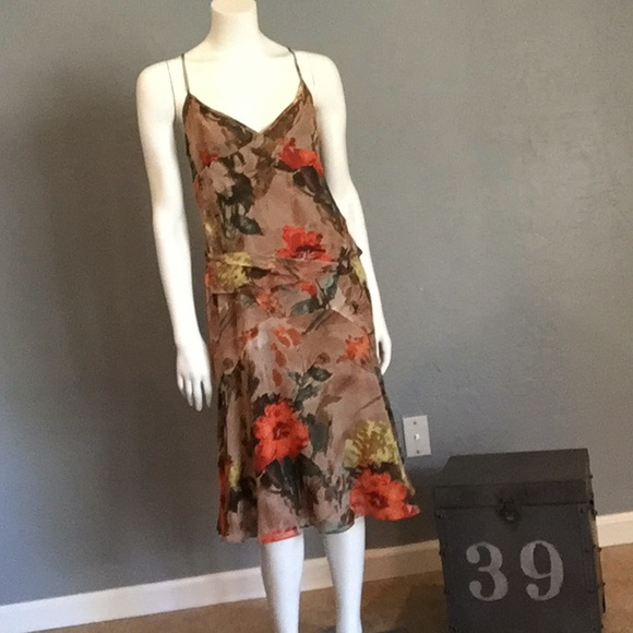 Burberry Dresses London Floral Dress Womens Size 8 Poshmark